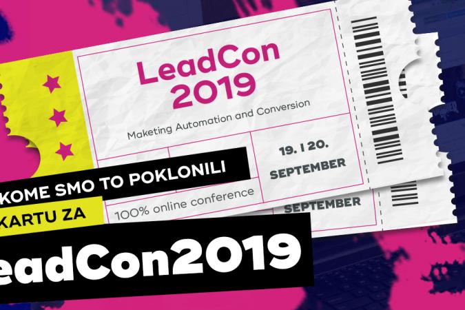 Kome smo to poklonili kartu za LeadCon?